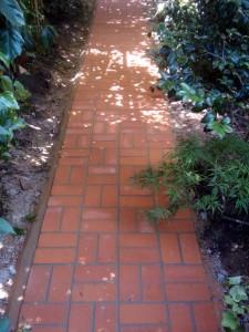 Clay Paver Pathway. Arkley