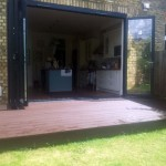 Compsite Decking. Crouch End
