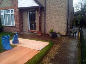 Disabled Access Improvements, Concrete Ramp, Handrails & Gates. Abbots Langley