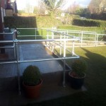 Disabled Access Improvements, Concrete Ramp, Handrails & Gates. Abbots Langley  (3)