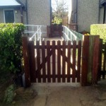 Disabled Access Improvements, Concrete Ramp, Handrails & Gates. Abbots Langley  (4)