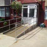 Disabled Access Improvements, Concrete Ramp & Handrails. Ilford
