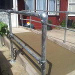 Disabled Access Improvements, Concrete Ramp & Handrails. Ilford (2)