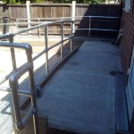 Disabled Access Improvements, Concrete Ramp & Handrails. Redbridge