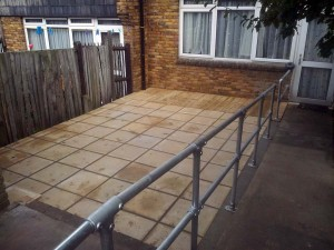 Disabled Access Improvements. Norwood 3