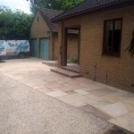 Disabled Access Improvements. Ramp & Paving. Front Entrance. Linton