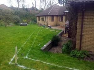 Disabled Access Improvements. Rear Patio & Walls. Linton