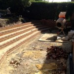 Large Step System & Patio. Hampstead Garden Suburb (4)