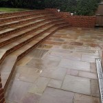Large Step System & Patio. Hampstead Garden Suburb (6)