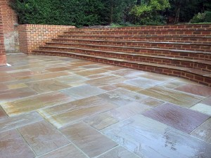 Large Step System & Patio. Hampstead Garden Suburb (7)