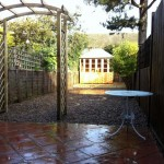Paving, Pergola & Summerhouse. Finchley (3)