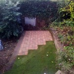 Reclaimed Brick Paved Area. New Barnet (3)