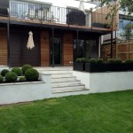 Rendered Walls, Steps & Paving, Hampstead