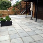Rendered Walls, Steps & Paving, Hampstead (3)