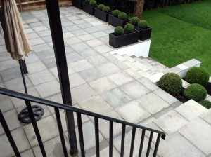 Rendered Walls, Steps & Paving, Hampstead (4)