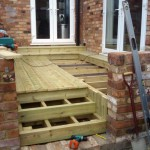 Soft Wood Decking. Cricklewood