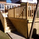 Soft Wood Decking. Potters Bar