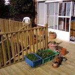 Soft Wood Decking. Potters Bar (2)