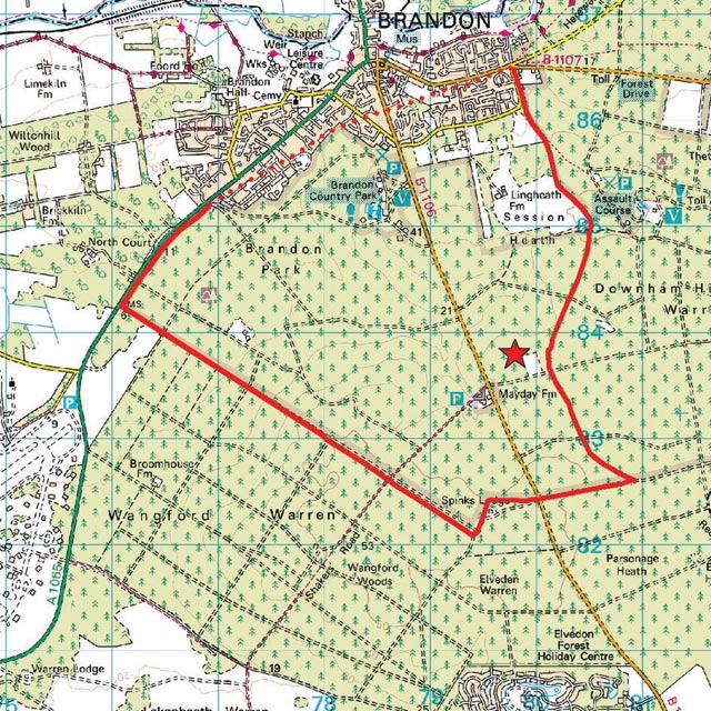 Where Is Breckland: The Breckland Society > Brandon
