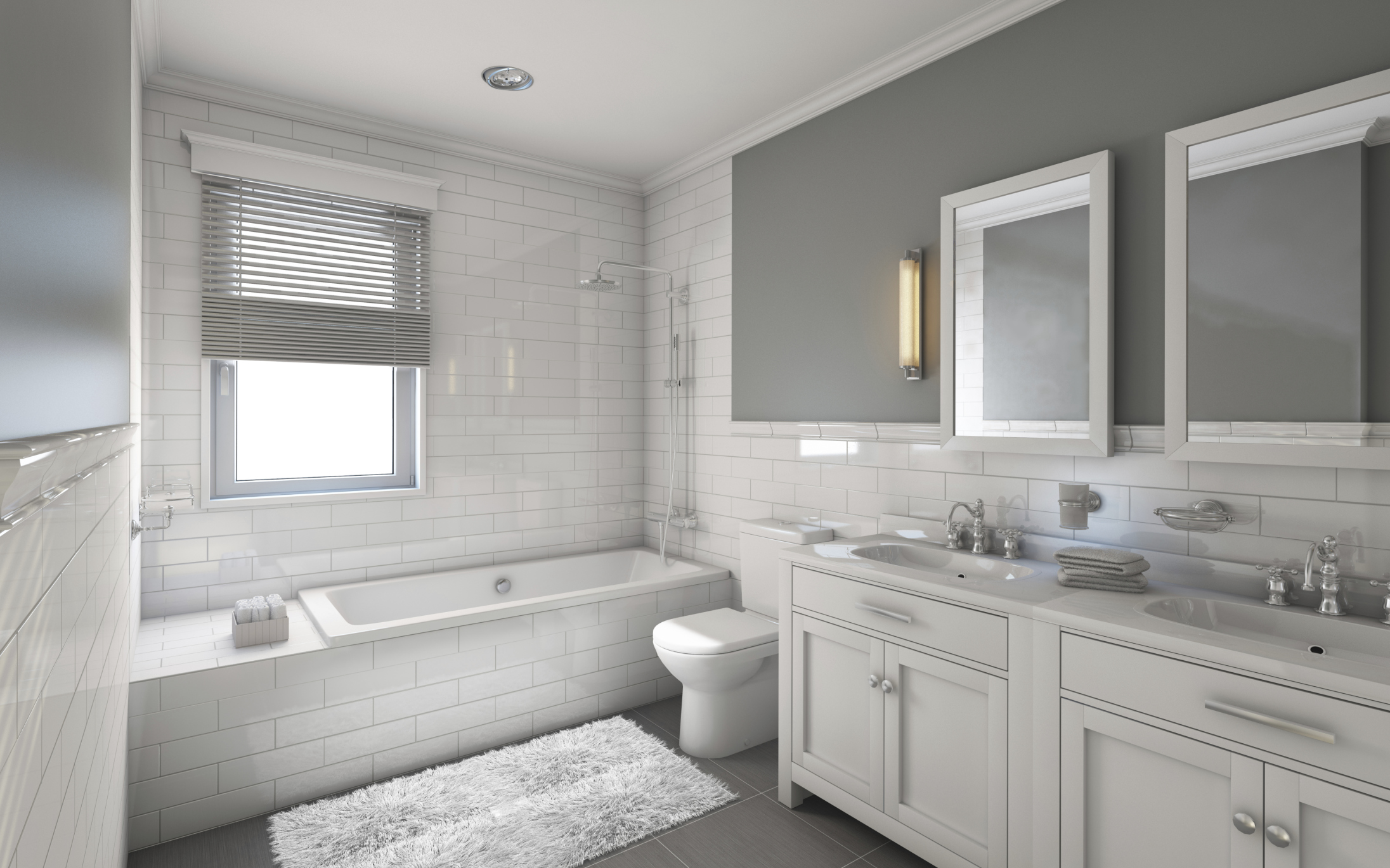 En suite bathroom designs pictures - En Suite Bathroom