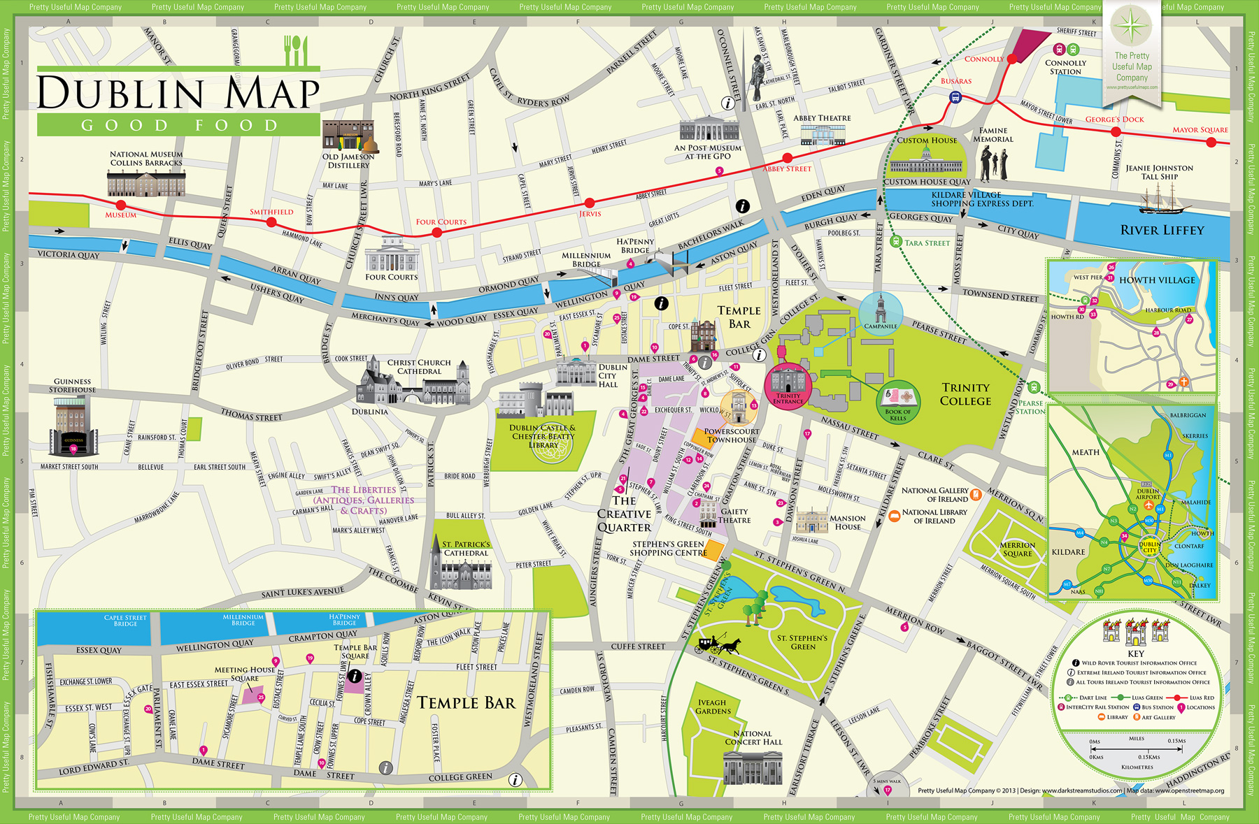 Adorable image pertaining to printable map of dublin
