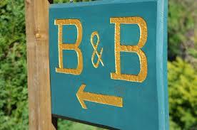 Bed & Breakfast Sign
